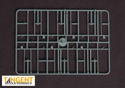 95005-04 Part Sprue – PS-2CD 4750 End Frame parts