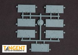 95005-06 Part Sprue – PS-2CD 4750 End vertical slope sheets