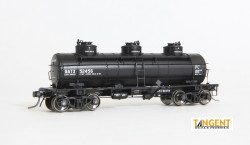 General American 6000 Gal. 3 Comp. Tank Car