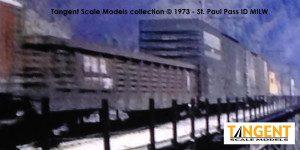 PRR G43 MILW St Paul Pass 1973