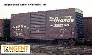 D&RGW 67421 1000