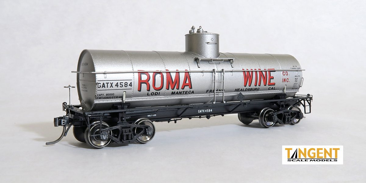 General American 1917-Design Insulated 8000 Gallon Radial Course Tank Car