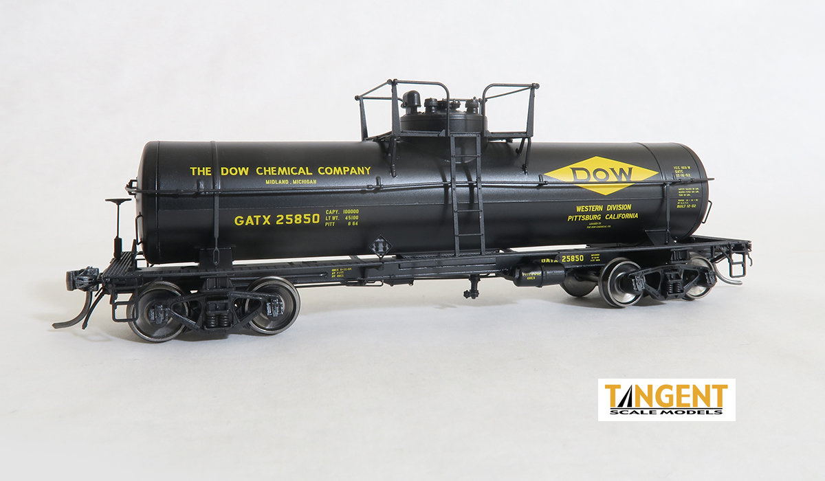 General American 1952-Design 8000 Gallon Welded General Service Tank Car