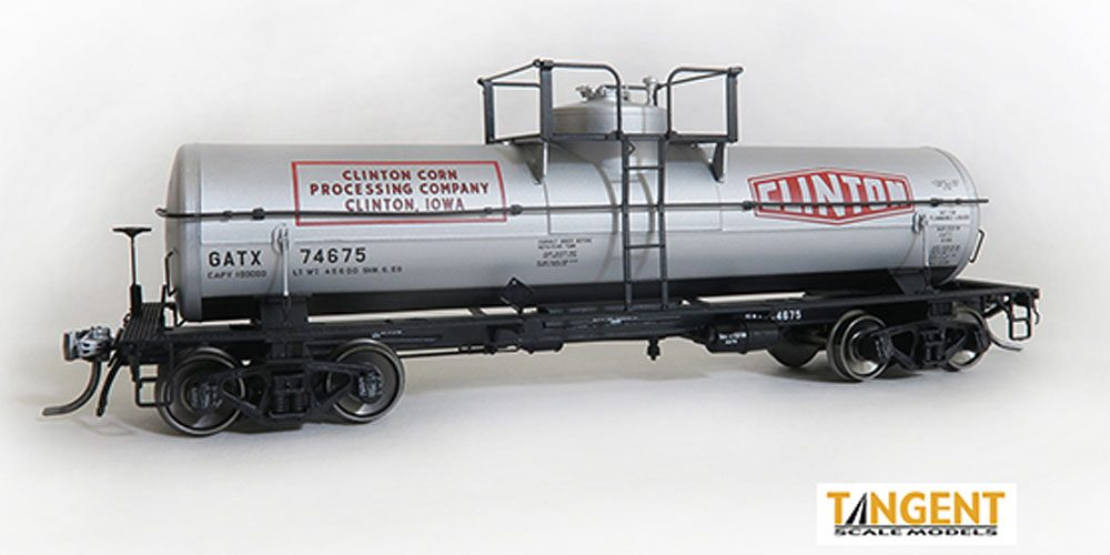 General American 1957-Design 8000 Gallon Welded General Service Tank Car